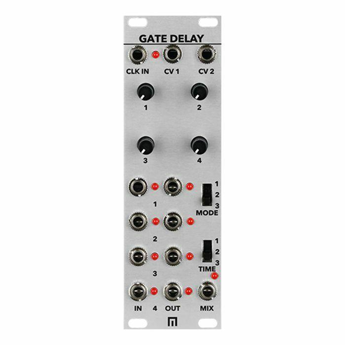 Malekko Quad Gate Delay Eurorack Module