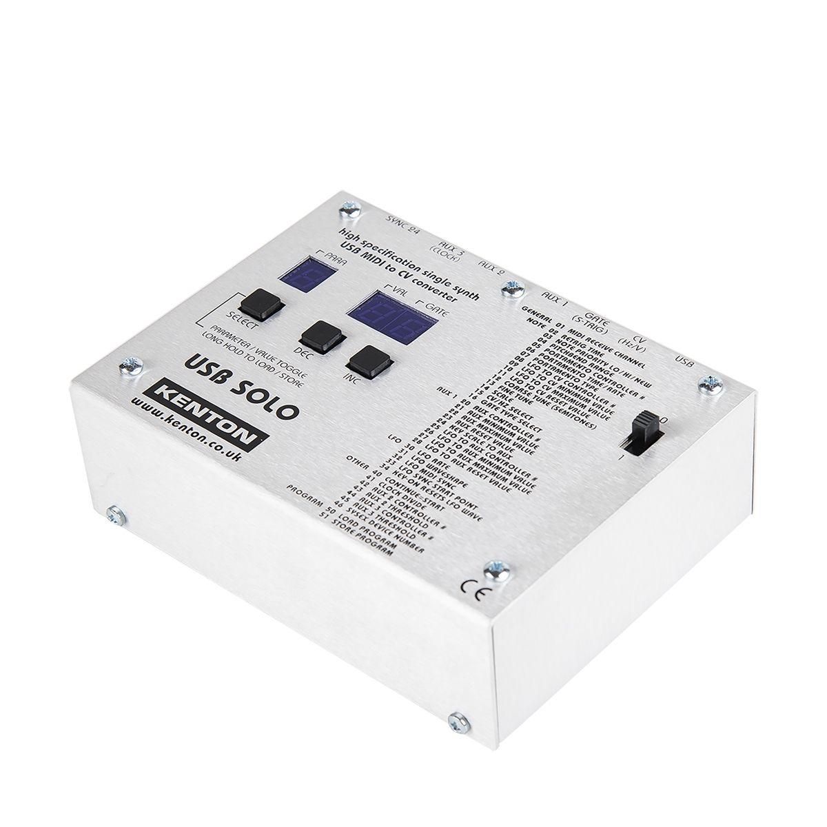Kenton ElectronicsUSB Solo USB MIDI to CV/Gate Convertor