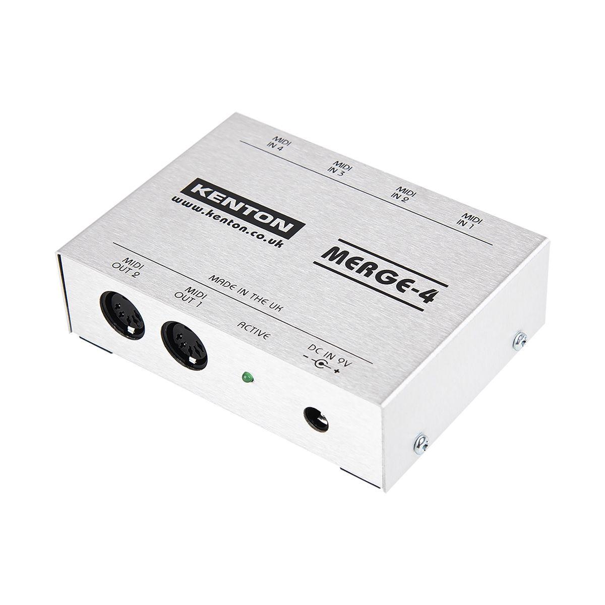 Kenton ElectronicsMERGE 4 MIDI Merge Box