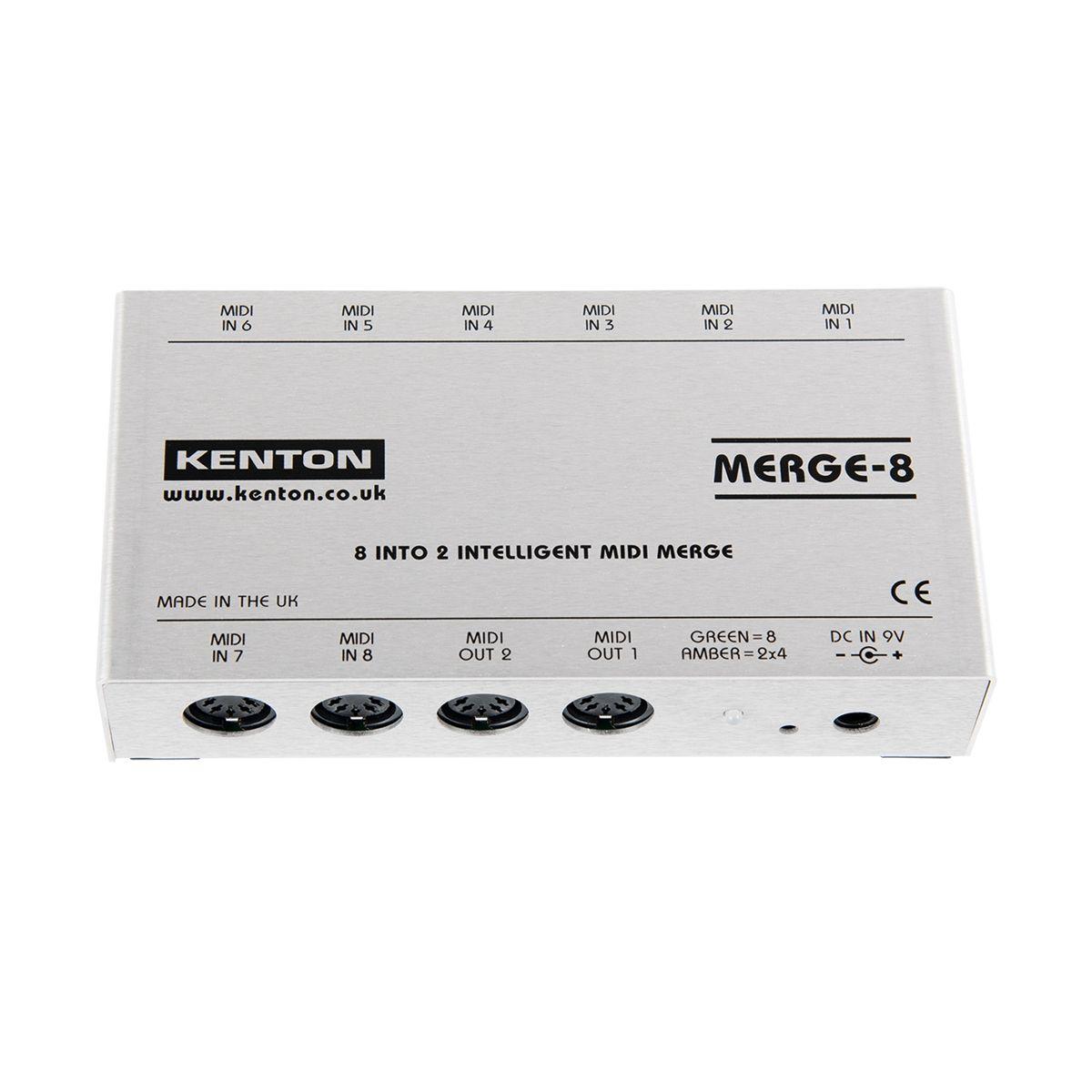 Kenton ElectronicsMERGE 8 MIDI Merge Box