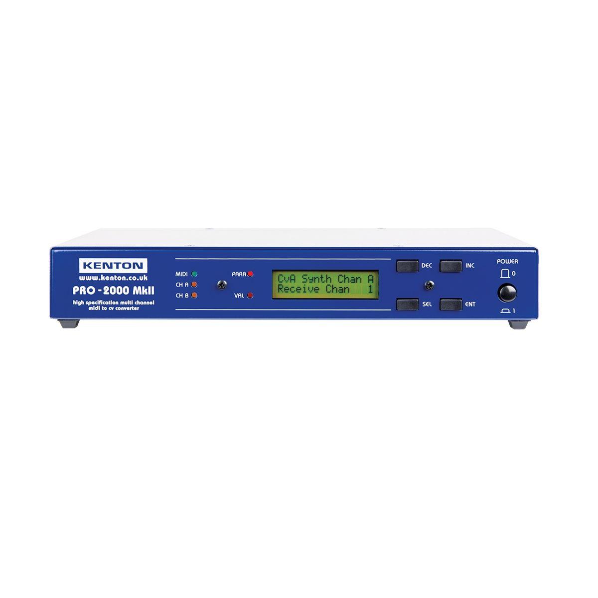 Kenton ElectronicsPro 2000 MKII MIDI to CV/Gate Convertor