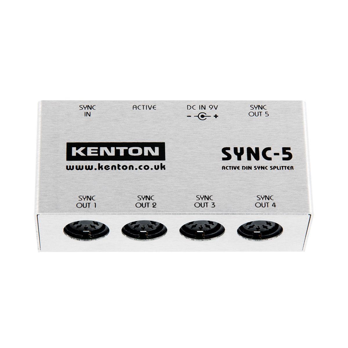 Kenton ElectronicsSYNC-5 DIN SYNC Thru Box