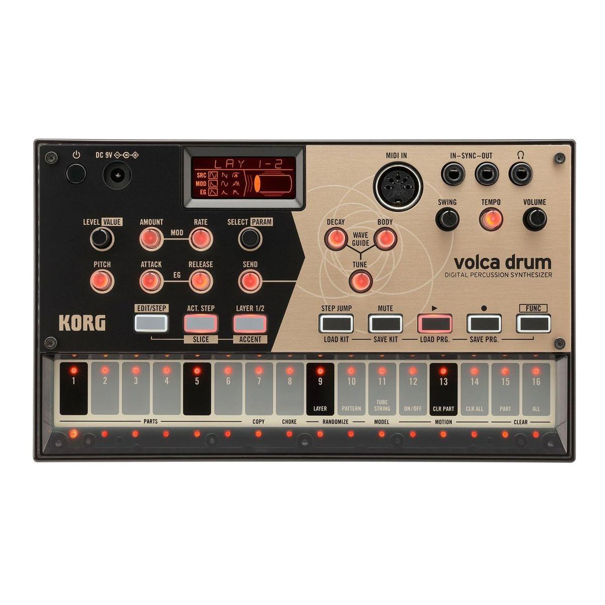 Korg Volca Drum Desktop Percussion Synth
