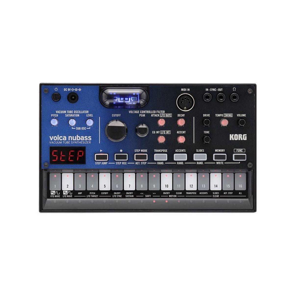 Korg Volca Nubass Desktop Analogue Bass Synth