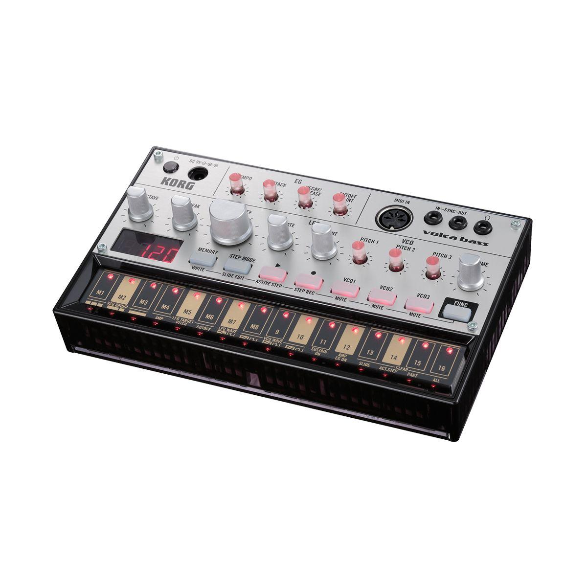 Korg Volca Bass Desktop Analogue Bass Synth
