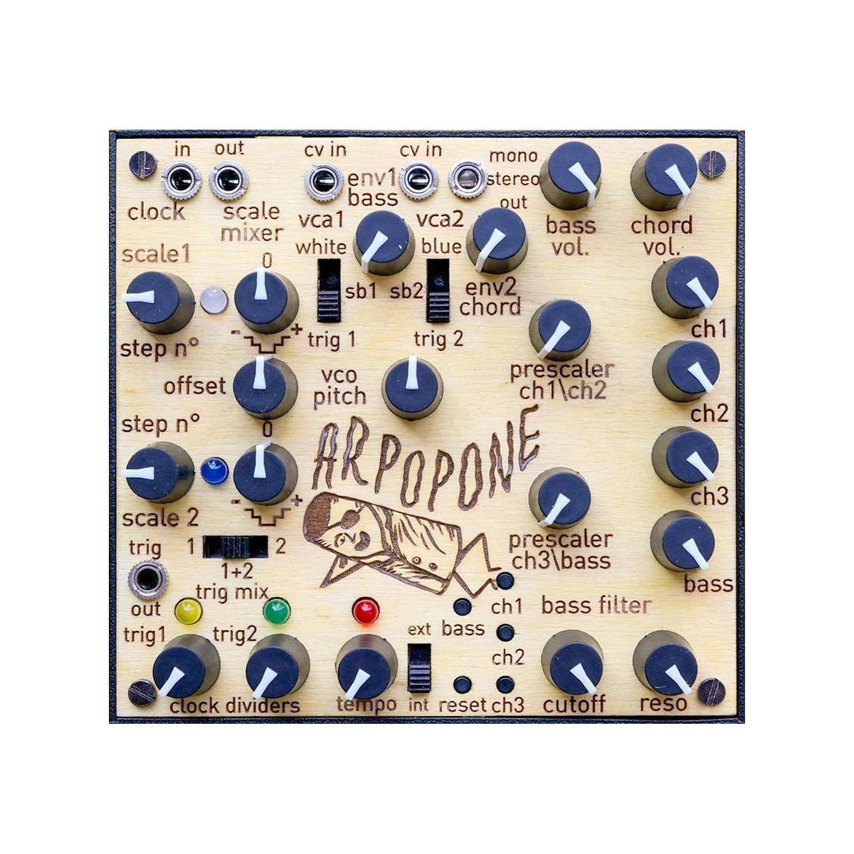 LEP Arpopone Desktop Analogue Bass Synth