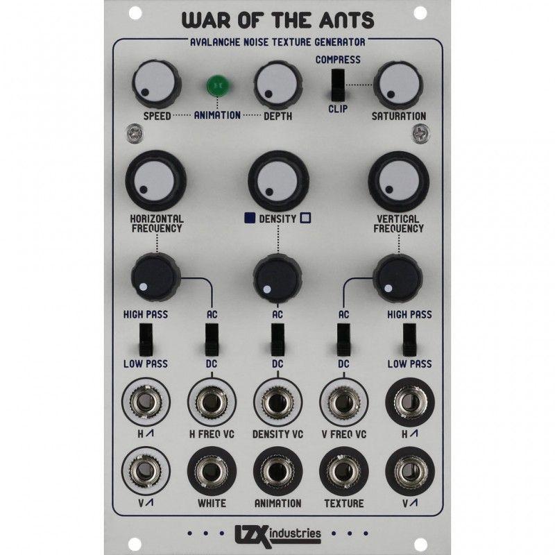 LZX Industries War Of The Ants Eurorack Video Module