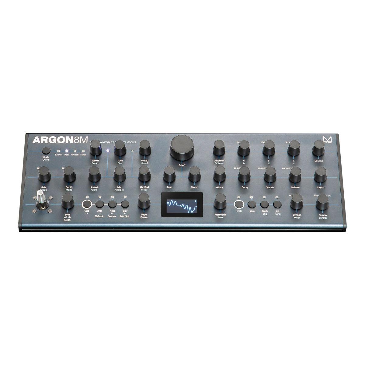 Modal Argon 8M Polyphonic Wavetable Desktop Synth