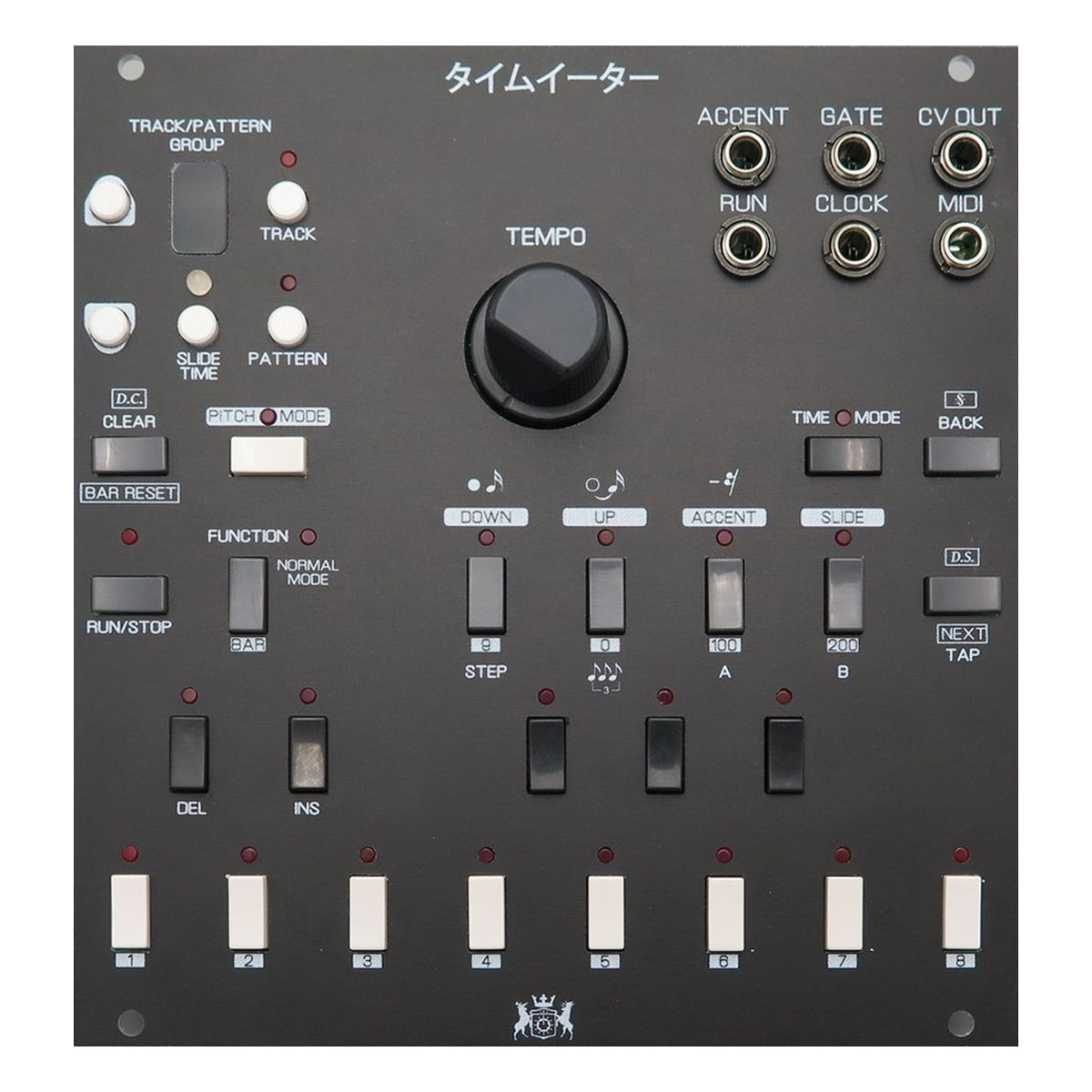 Michigan Synth Works Chronovore Eurorack Sequencer Module (Black)