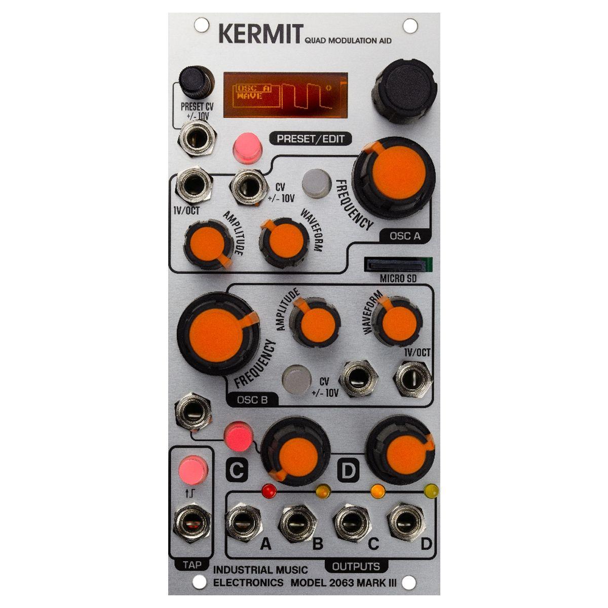 Industrial Music Electronics Kermit MK III Eurorack 4 Channel Modulation Module