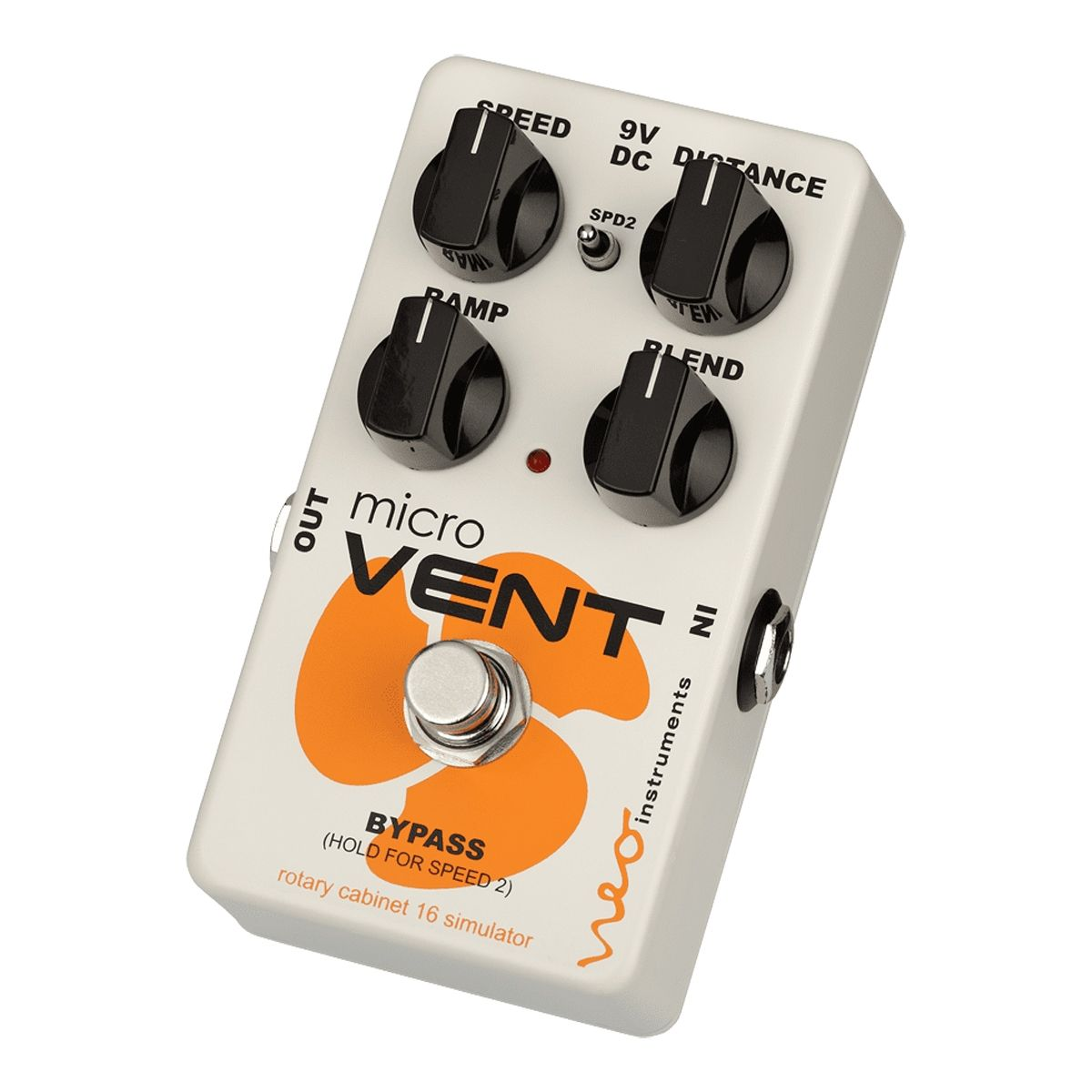 Neo Instruments Micro Vent 16 Rotary Speaker Effects Processor