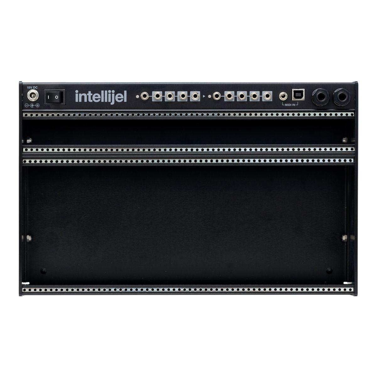Intellijel Palette Eurorack Powered Case (4U - 62hp) - Black