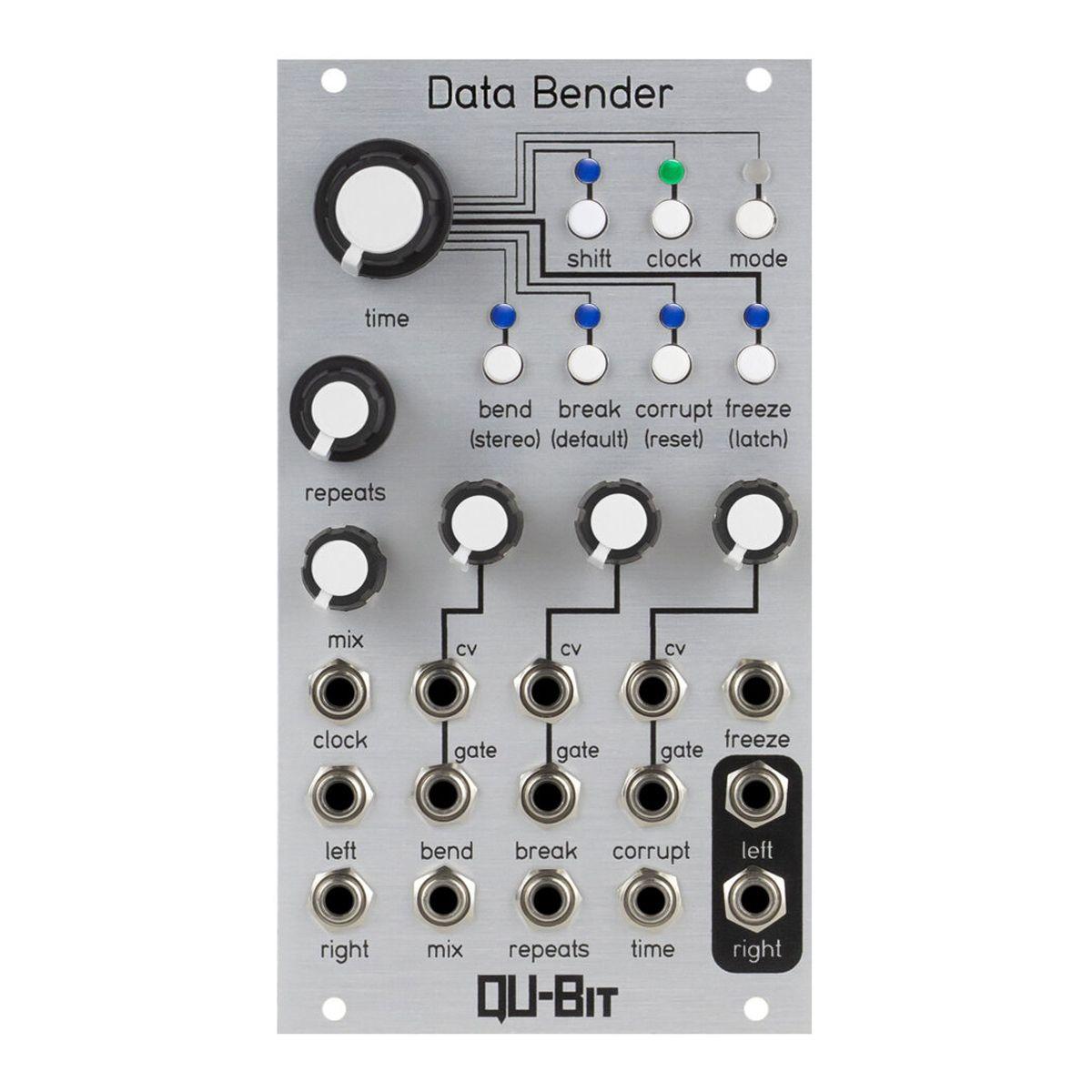 Qu-Bit Electronix Data Bender Eurorack Digital Glitch Processor Module (Silver)
