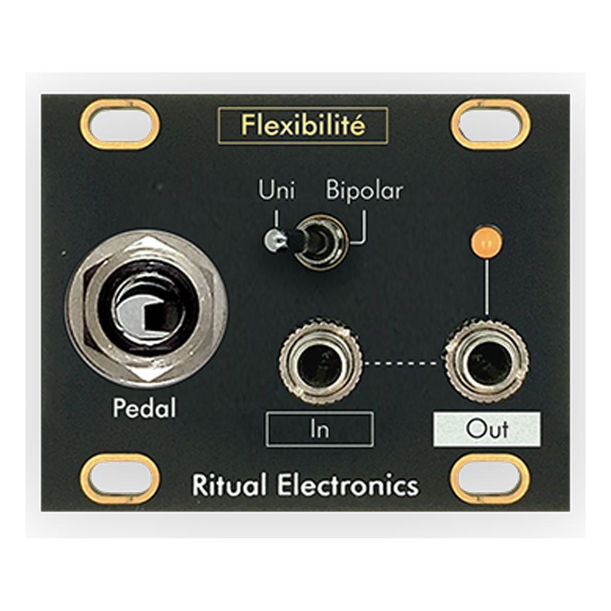 Ritual Electronics Flexibilite Eurorack 1U Expression Pedal Module
