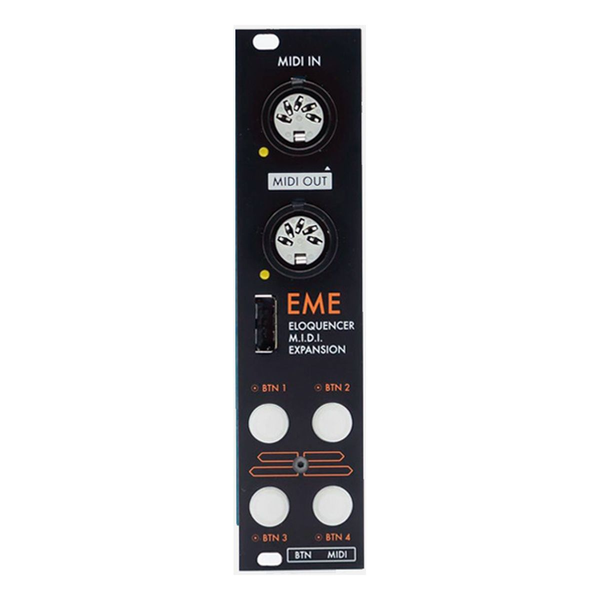 Winter Modular EME Eurorack Eloquencer MIDI Expansion Module (Black)