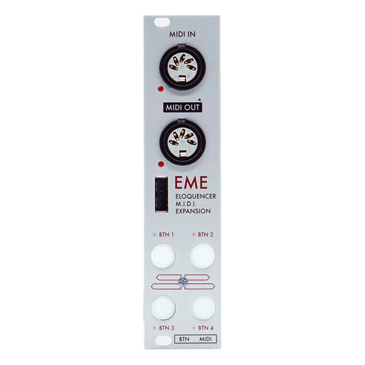 Winter Modular EME Eurorack Eloquencer MIDI Expansion Module (Silver)