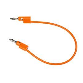 Buchla Banana Patch Cable (25cm Orange)